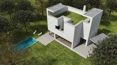 Residence by Alvaro Siza