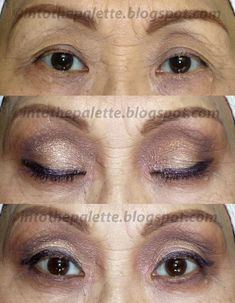 Subtle, Defined, and Opened Eye Look for the Mature Wise Eyes - Eyeshadow tutorial for women over 60