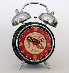 Shoes Retro Alarm Clock