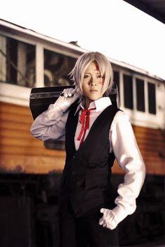 Allen Walker | D.Gray-man (Izanami(NamiKitsune) - WorldCosplay) #anime #cosplay