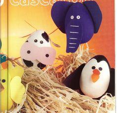 Como decorar cascarones de huevo - Imagui