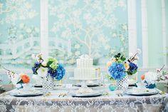 Bridal Tea Tablescape