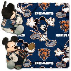 Chicago Bears Baby Blanket