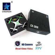 Cheerson CX-30W FPV Quadcopter Drone With Camera RC Helicopter Professional Drones Dron Quadrocopter VS MJX X101 SYMA X5 JJRC