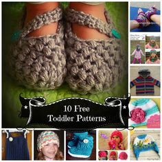 *Creative Crochet products*: My First Round-Up! Free Toddler patterns!