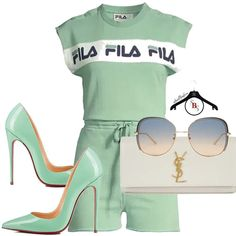 Ni'Cole inspired look. Cute Swag Outfits, Dope Outfits, Chic Outfits, Trendy Outfits, Fashion Outfits, Womens Fashion, Fashion Trends, Green Outfits For Women, Cute Fashion