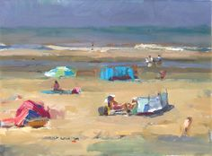 ARTACASA Gallery Artists and Artworks, Roos Schuring. Longing for the beach