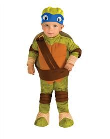 Teenage Mutant Ninja Turtles Leonardo Toddler Romper  | Spirit Halloween | #EastwoodPinPals