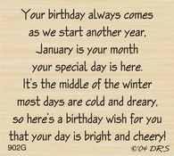 January Birthday Greeting