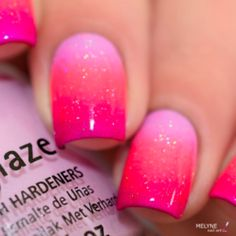Beautiful nail art designs that are just too cute to resist. It's time to try out something new with your nail art. Gradient Nails, Pink Nails, Galaxy Nails, Ombre Nail, Best Acrylic Nails, Acrylic Nail Designs, French Nails, Cute Nails, Pretty Nails