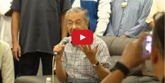 Video sesi soal jawab bicara negara Tun Mahathir - http://malaysianreview.com/123502/video-sesi-soal-jawab-bicara-negara-tun-mahathir/