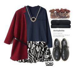 """""""#Yoins"""" by credentovideos ❤ liked on Polyvore featuring Abercrombie & Fitch, Dr. Martens and John-Richard"""