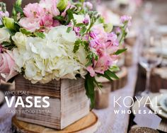 Wholesale wedding vases in bulk, wedding supplies, event centerpieces and floral decorations on sale FREE SHIPPING on $99+  Koyal Wholesale is the destination for DIY brides, event planners, and florists looking for affordable wholesale wedding and event supplies, table centerpiece ideas, and decorations  Vases, votives, chargers, table linens, branches, table centerpieces, and more!