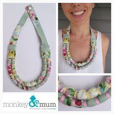 Custom Made Two Bound Strand Necklace Baby by monkeyandmum on Etsy, $45.00