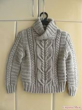 Diy Crafts - Shawl Collar Baby Sweater Knitting Patterns - In the Loop Knitting Boys Knitting Patterns Free, Crochet Baby Cardigan, Baby Cardigan Knitting Pattern, Knit Baby Sweaters, Crochet Baby Clothes, Knitting For Kids, Knitting Designs, Baby Knits, Casual Tops For Women
