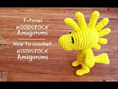 Tutorial Woodstock Amigurumi | How to crochet Woodstock Amigurumi - YouTube