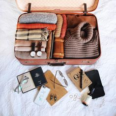 Warm and earthy packing situation ✈️ P.S. I'll be selling clothes and goodies at Glebe Markets tomorrow! From 10.00A.M.  See #taramilkteawears for an idea of some things I'll be selling - or snapchat (tara_milktea) ☺️
