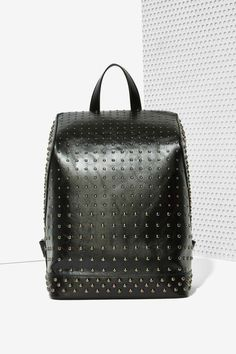 Black Out Studded Backpack