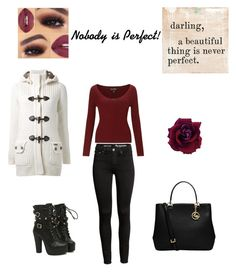 """""""Nobody is Perfect!"""" by fashiongirl-8808 ❤ liked on Polyvore featuring MICHAEL Michael Kors, Bark, Miss Selfridge and Sugarboo Designs"""