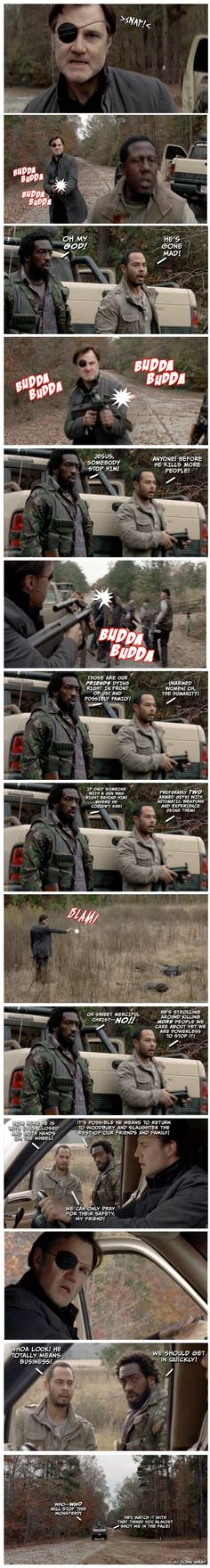 The Walking Dead season 3 episode 16 - Welcome to the Tombs gifs and memes #TickingTimeBomb - PandaWhale