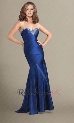 Bustier Robe Femme de Soiree Vintage Sirene RUC009 #bleue #robe #sirène #robeunique