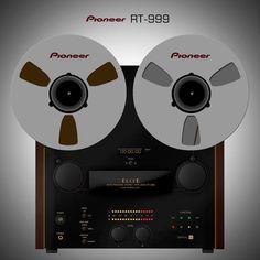 Amazing PIONEER RT-999 - www.remix-numerisation.fr - Numérisation de bande magnétique audio - Restauration Audio