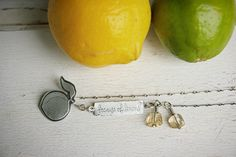 Because of Lemons | by Carin Jones - Jonesing for Jewelry