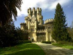 Castillo de Butrón en Gatica, País Vasco