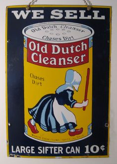 Old Dutch Cleanser Can
