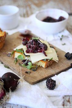 Brombeerchutney, Pesto – Abendbrot!