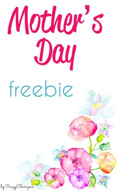 Get your subscriber freebie to use in the classroom and have fun with your students! The Mother's Day freebie is about paying compliments to mother. | CrazyCharizma