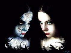ゴシック、良い、対、悪、女の子、要約、ハロウィーン、最も暗い - 悪のゴシック少女対良いです