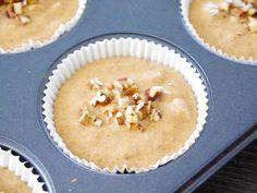 Gezonde pompoenmuffins met pecannoten