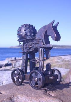 """""""The Waler"""" 2004 Bronze by Jimmy Rix The Waler was bred in New South Wales, Australia. It was bred for war and became the toughest war horse in history. New South, South Wales, Cos, Bronze, Australia, Horses, Sculpture, History, Historia"""