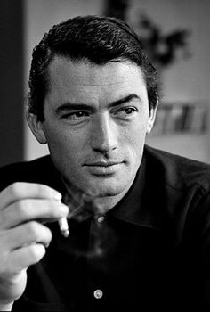 Gregory Peck by  Philippe Halsman, USA, 1949. Magnum Photos.
