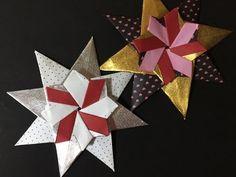 Origami Star Corona. (Maria Sinayskaya) 折り紙 星 飾り - YouTube