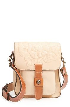 Patricia Nash 'Lari' Tooled Leather Crossbody Bag | Nordstrom