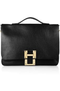Sophie Hulme Leather satchel   $780.00