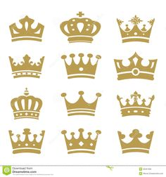 Crown Silhouette Vector Images (over Prince Birthday Party, Prince Party, Princess Birthday, Baby Birthday, 1st Birthday Parties, Crown Silhouette, Silhouette Vector, Silhouette Frames, Crown Template
