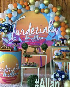 Tropical, Birthday, Cake, Design, 12th Birthday, Teen Birthday Parties, Colorful Birthday Party, Pool Party Birthday, Aloha Party