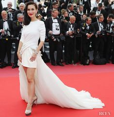 Celina Jade in Stephane Rolland Couture at the Cannes Film Festival premiere for Everybody Knows on May Celina Jade, Elegant Dresses, Formal Dresses, Stephane Rolland, Cannes Film Festival, Red Carpet Fashion, Awards, Ballet Skirt, Couture