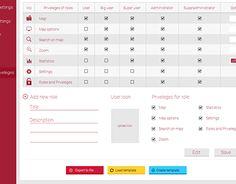 Design concept for administrative dashboard of web service Working On Myself, New Work, Web Design, Behance, Ads, Gallery, Check, Behavior, Design Web