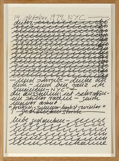 Hanne Darboven, 'Untitled,' 1974, P420