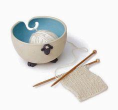 Porta ovillo de lana! Publicado por La Magia del Crochet