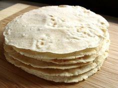 Homemade corn tortillas - great idea, especially as tortillas are one of those products that have tons of additives and preservatives if you buy them in the store, but only THREE ingredients when you make them yourself. Must try.