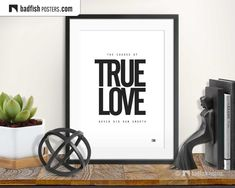 Cool Posters, Quote Posters, Quote Prints, Typography Poster Design, Typography Quotes, Shakespeare Quotes, Alternative Movie Posters, Unconditional Love, Scandinavian Design
