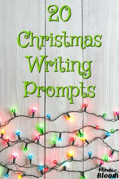 Here are 20 Christmas writing prompts to help you pass those last few stressful days until Christmas break and to get your students thinking and writing creatively! Creative and critical thinking are important skills to practice, and they're targeted especially well with these writing prompts.