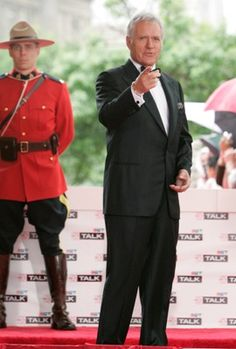Canada's Walk of Fame Inductee Alex Trebek (I've always found this man sexy...)