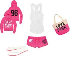 VS Pink outfit, comfy for pajamas or a lazy day Vs Pink Outfit, Pink Outfits, Hot Outfits, Casual Outfits, Cute Teen Outfits, Cute Comfy Outfits, Comfortable Outfits, Outfits For Teens, Cozy Pajamas
