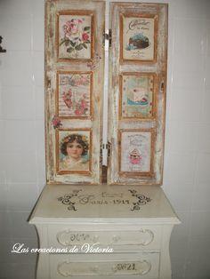 Retazos de madera contraventanas pinterest muebles for Como pintar una puerta de madera vieja